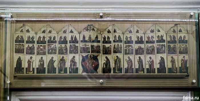 Походный иконостас царской армии