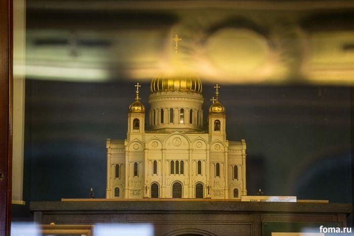 Макет Храма Христа Спасителя