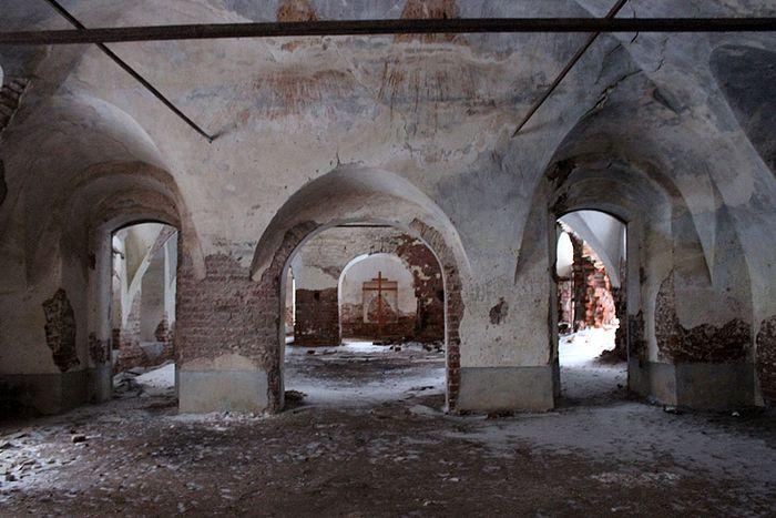 В храме села Вотча