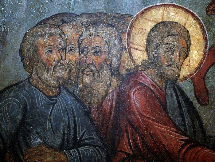 Христос с учениками. Собор Сретения Владимирской иконы Божией Матери. Сретенский монастырь