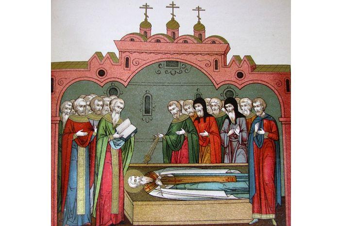 Смерть святителя Стефана Великопермского