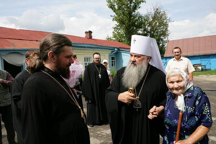 Владыка Варсонофий и Антонина Никифоровна Князева