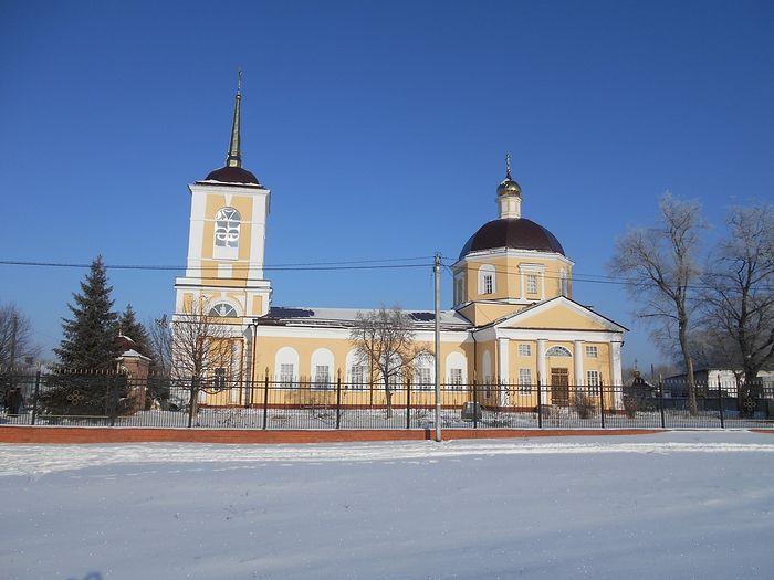Вознесенский храм. Современный вид