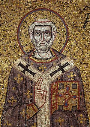 Свт. Амвросий Медиоланский. Собор Св. Марка, Венеция, XI в.