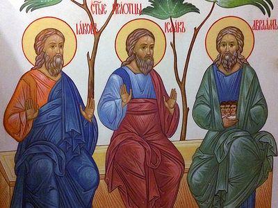 Всенощное бдение в Сретенском монастыре накануне Недели 27-й по Пятидесятнице, святых праотец