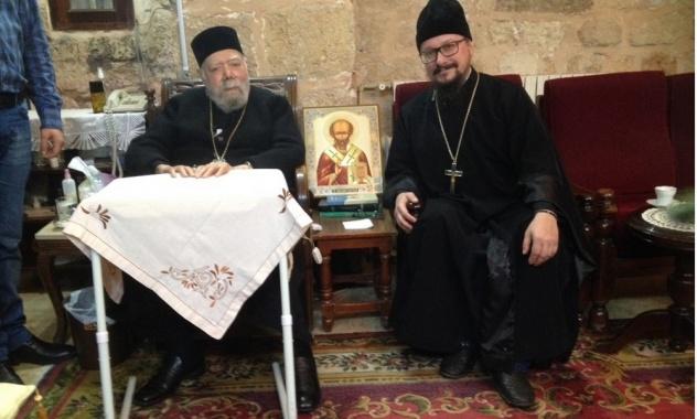 Представитель Русской Церкви встретился в Сирии с митрополитом Латакийским Иоанном