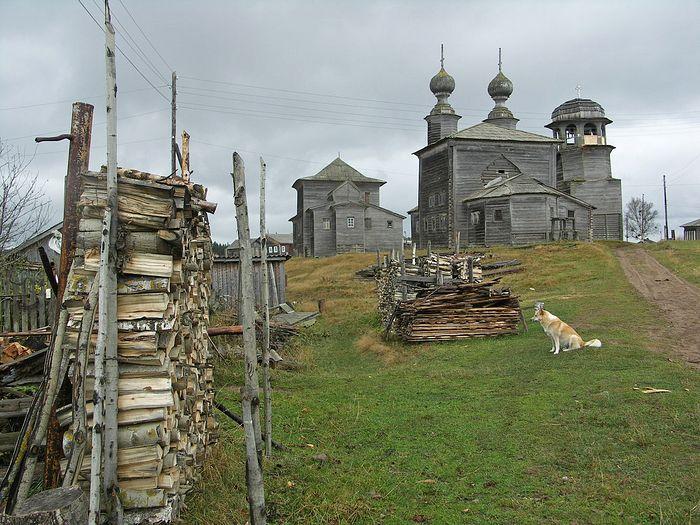 Храм Николая Чудотворца. д. Ворзогоры. До работ