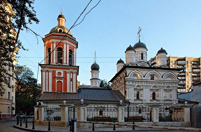 Храм Иоанна Богослова в Бронной слободе на Тверском бульваре