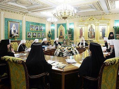 Журналы заседания Священного Синода от 27 декабря 2016 года