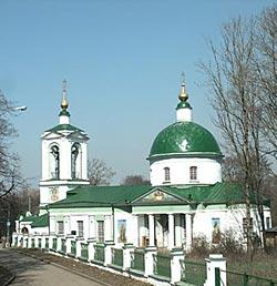 Храм во имя Троицы Живоначальной на Воробьёвых горах