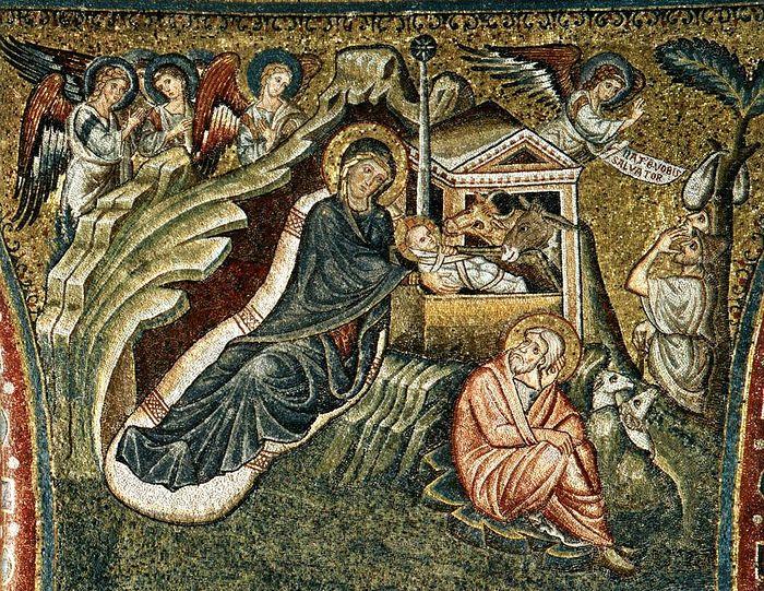 Рождество Христово. Базилика Санта-Мария-Маджоре, Рим