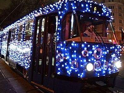 В Рождественскую ночь общественный транспорт в Москве работает в особом режиме