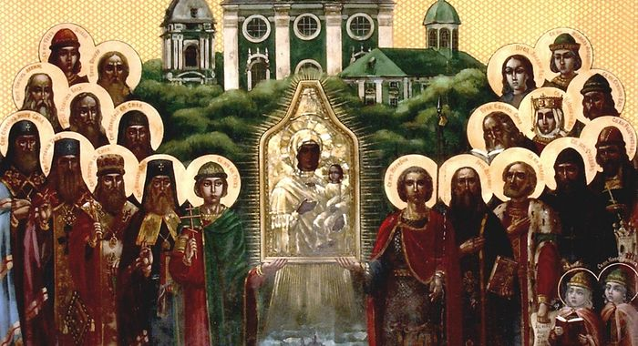 Synaxis of Smolensk saints. Photo: http://foma.ru/k-liku-smolenskih-svyatyih-prichislili-nikitu-i-feofana-roslavlskih.html