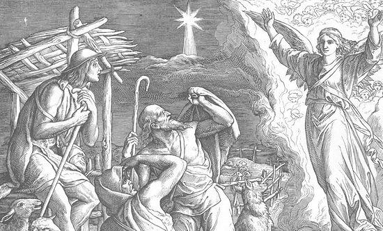 Явление ангела вифлеемским пастухам