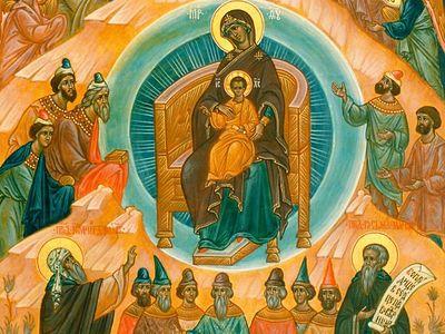 Всенощное бдение в Сретенском монастыре накануне 29-й Недели по Пятидесятнице, по Рождестве Христовом
