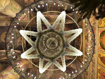 Божественная литургия в Сретенском монастыре в Неделю 29-ю по Пятидесятнице, по Рождестве Христовом