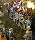 Всенощное бдение на праздник Владимирской иконы Божией Матери