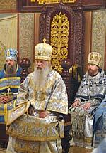 Божественную Литургию 3 июня возглавил архиепископ Орехово-Зуевский Алексий