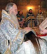 За Божественной Литургией был рукоположен во иеромонаха насельник Сретенского монастыря, выпускник семинарии, иеродиакон Паисий (Бочкарев)