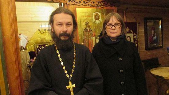 Протоиерей Павел Гумеров и психолог Ирина Рахимова