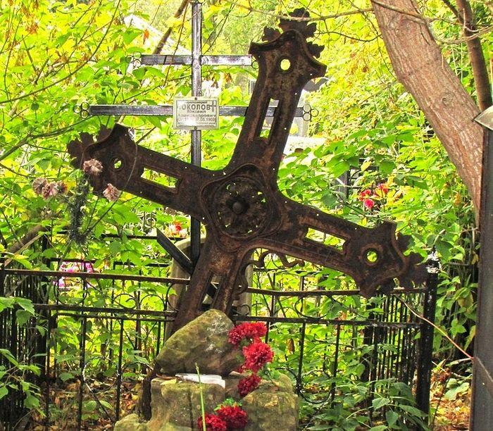 Место погребения протоиерея Михаила Соколова