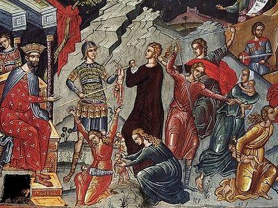 О Вифлеемских младенцах и наследниках царя Ирода