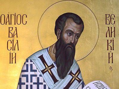 Божественная литургия в Сретенском монастыре в день празднования Обрезания Господня и памяти святителя Василия Великого