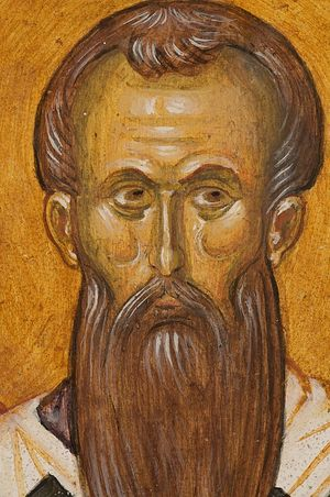 St. Basil the Great. Photo: http://www.gsinai.com/portable-frescoes/