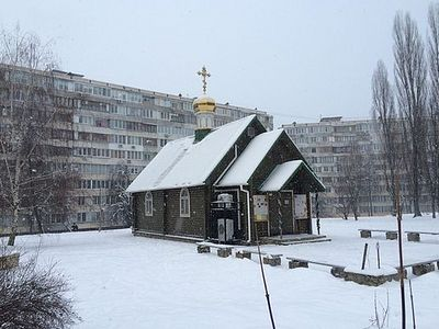 В Киеве чудо спасло храм от поджога злоумышленников