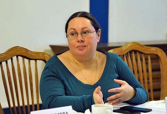 Президент благотворительного фонда «Волонтеры в помощь детям-сиротам» Елена Альшанская. Фото с сайта diaconia.ru