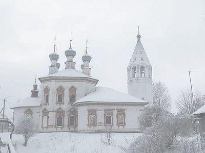 Зимняя Усть-Ижина