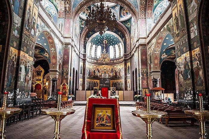 Храм Ново- Афонского Симоно-Кананитского монастыря