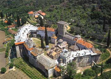 Hilandar Monastery - Mount Athos