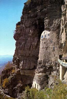 St. Sava's hermitage near Studenica
