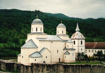 Mileseva Monastery - burial church of St. Sava