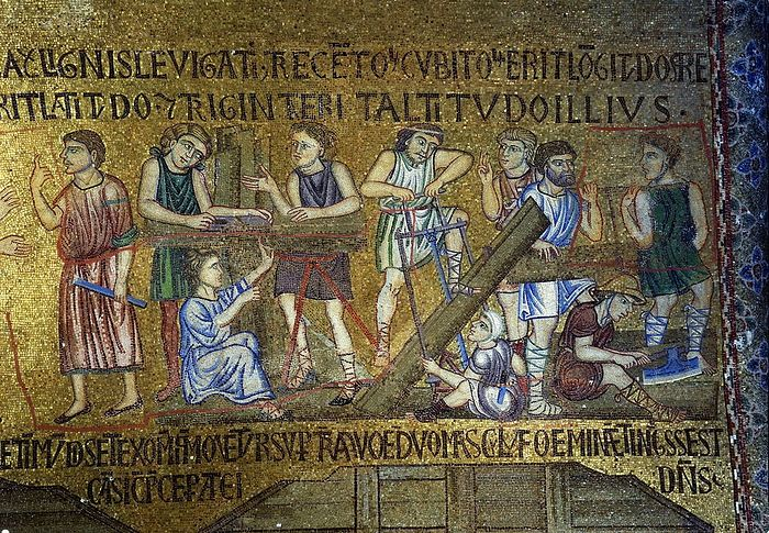 Mosaic from Monreale Cathedral in Sicily