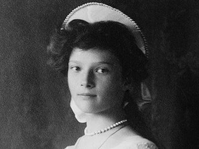 Великая княжна Татьяна Николаевна Романова
