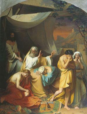 I. Xenofontov. Noah curses Ham
