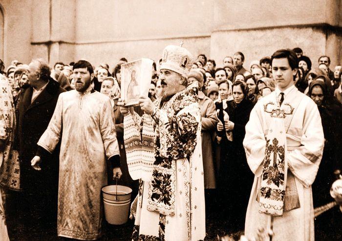 Владыка Никодим в начале служения на Харьковской кафедре