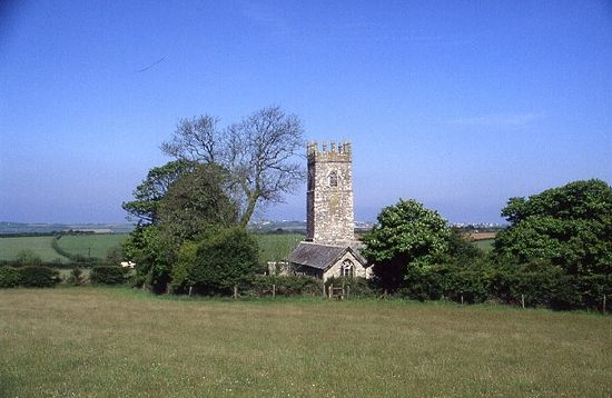 St. Adwenna's Church in Advent, Cornwall