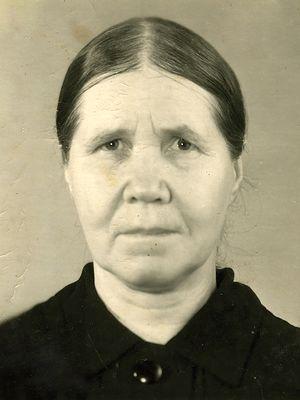 Схимонахиня Евдокия (Панченко)
