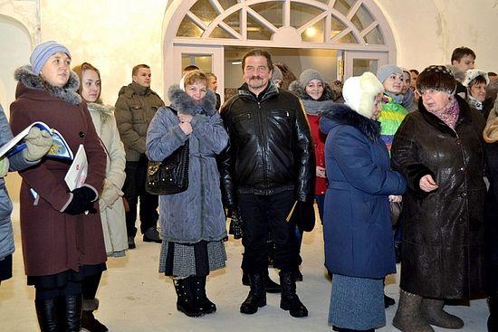 Александр Михайлов с женой Еленой