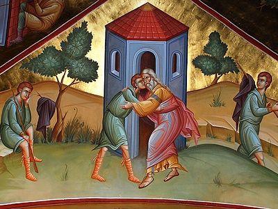 Всенощное бдение в Сретенском монастыре накануне Недели о блудном сыне