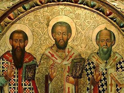 The Three Holy Hierarchs: an Organizer, a Contemplative, a Preacher