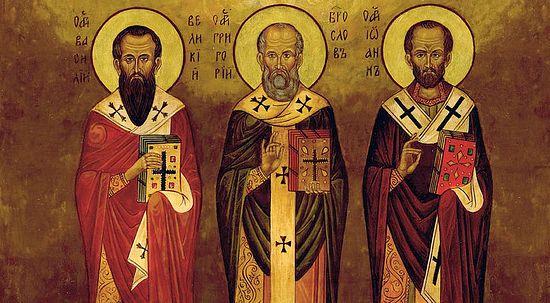 Собор вселенских святителей Василия Великого, Григория Богослова и Иоанна Златоуста