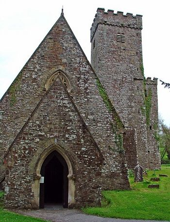St. Aidan's Church in Llawhaden, Pembrokeshire