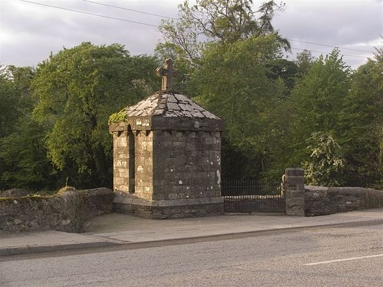 St. Mogue's well in Ferns (source - Mapio.net)