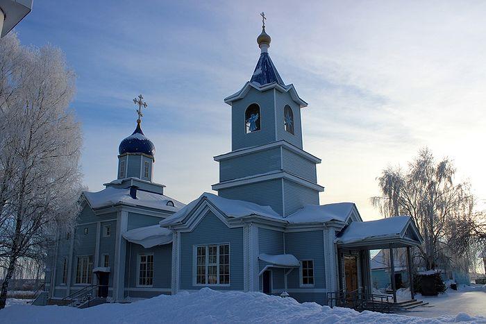 Свято-Казанский храм местечка Кочпон в наши дни