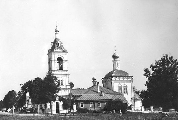 Казанский храм села Шеметово