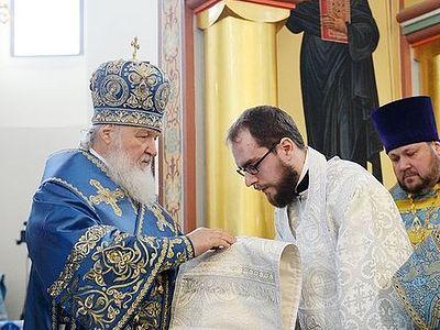 Патриарх Кирилл: Господь помогает человеку, когда тот по собственной воле принимает помощь